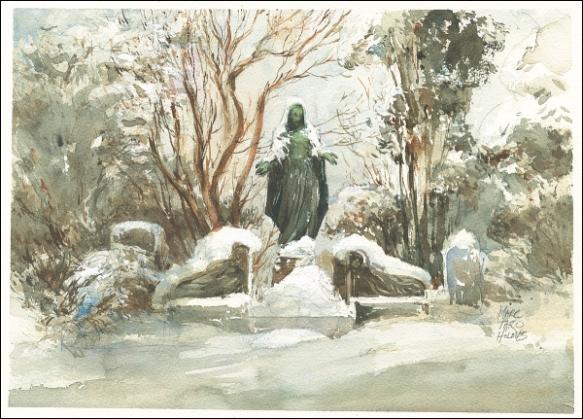 14Feb09_Snow Angels_Sketch Swap_Bronze